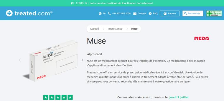 MUSE en ligne