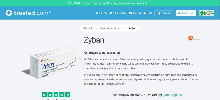 Zyban en ligne